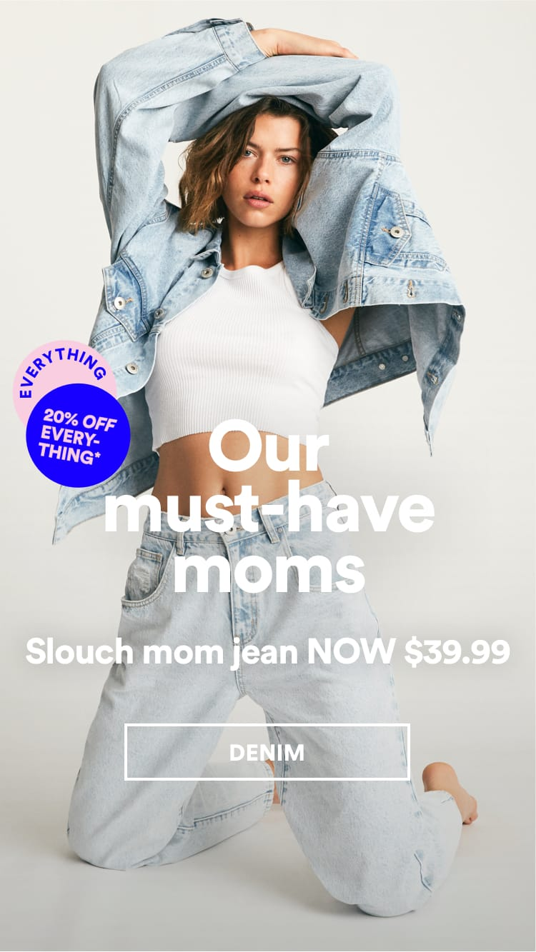 The Mom Jeans. Shop Now.