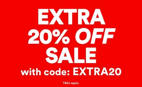Men's EXTRA 20% OFF Sale with code EXTRA20. Click to Shop.