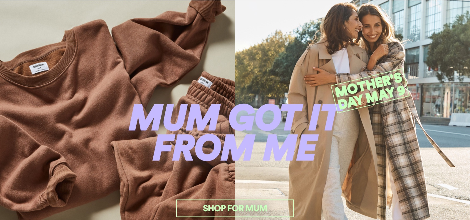 Mum Got It From Me. Shop For Mum