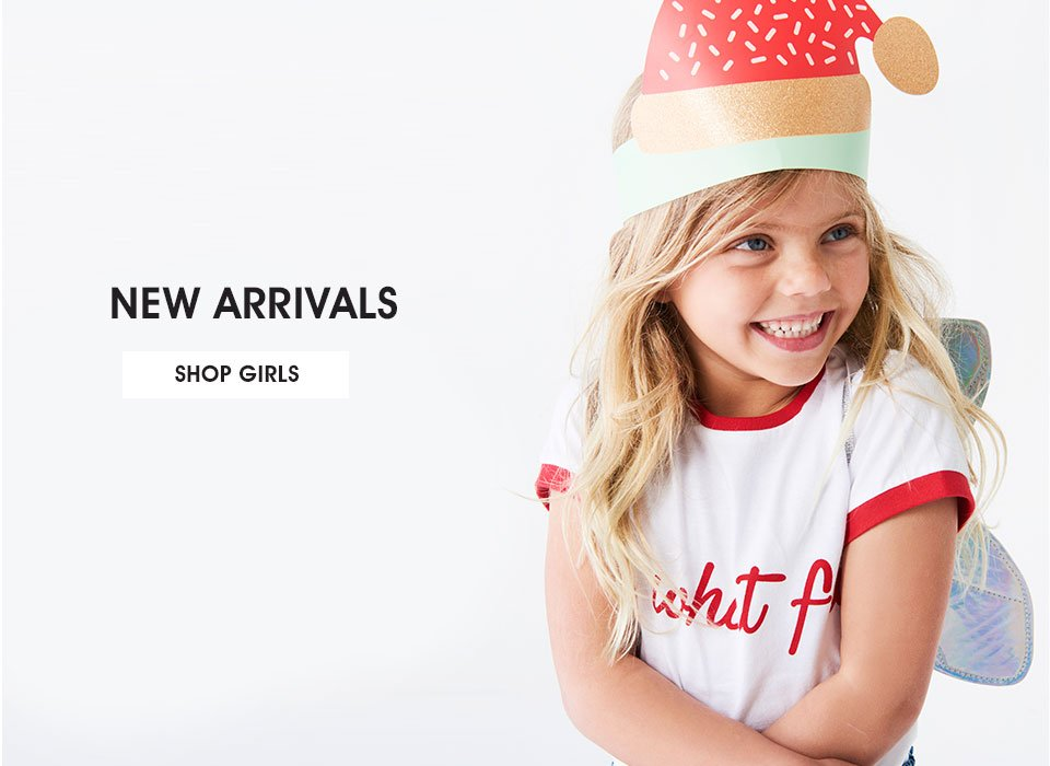 Shop Girls New Arrivals