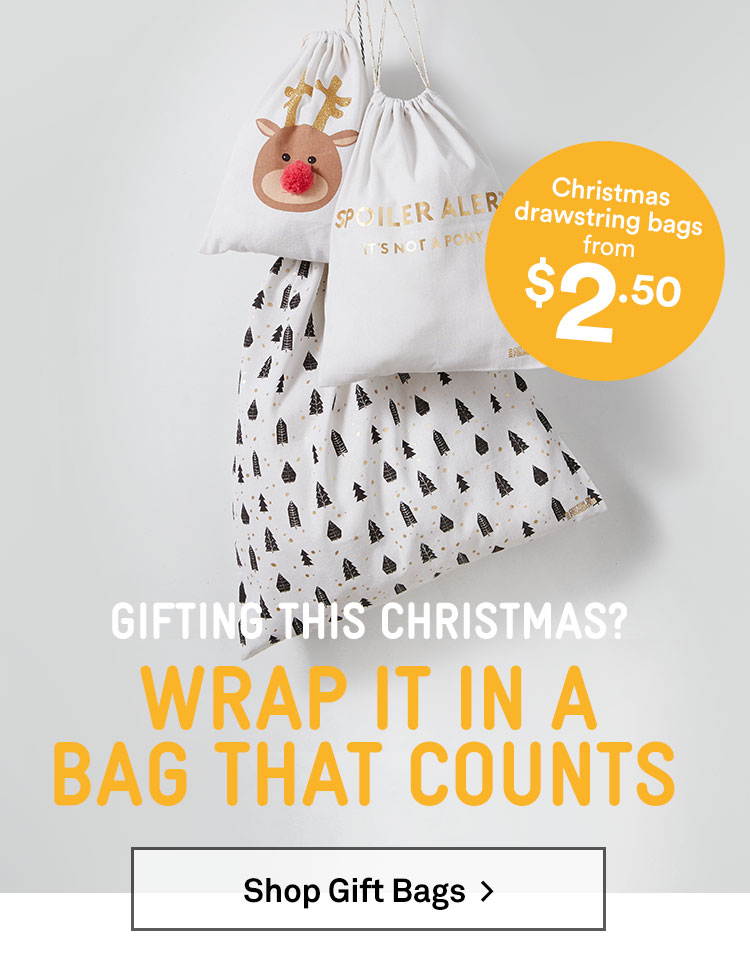 Shop the Cotton On Foundation Gift Bags