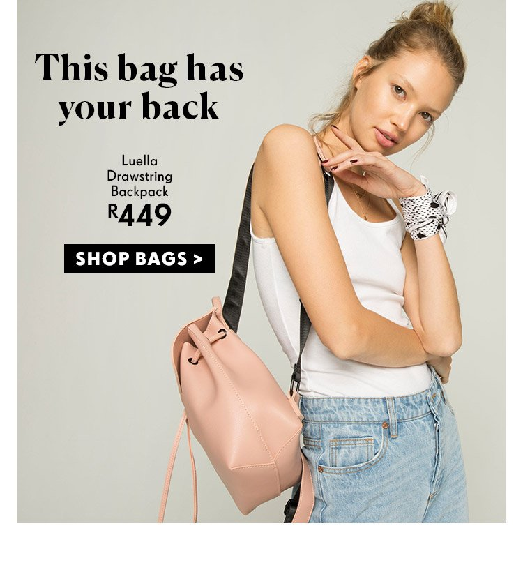 This Bag Has Your Back | Shop Rubi Bags