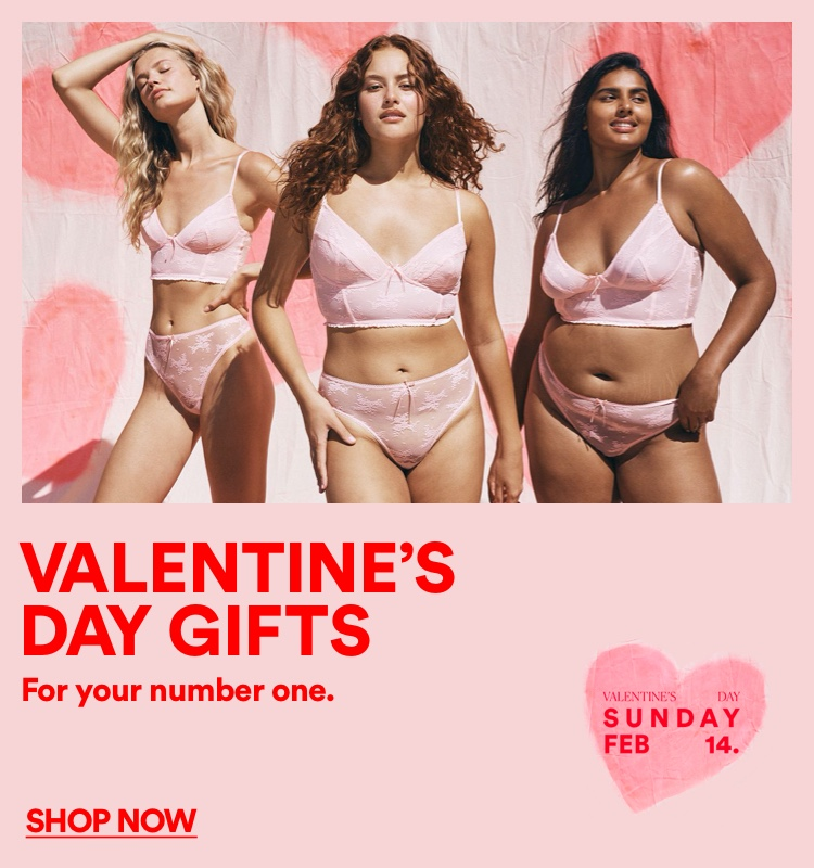 Valentine's Day Gifts. For your number one. Click to Shop Now