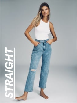 Straight Jeans Click to shop.