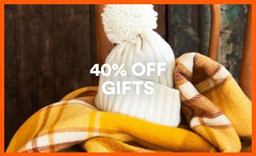 40% off Gifts. Click to Shop.