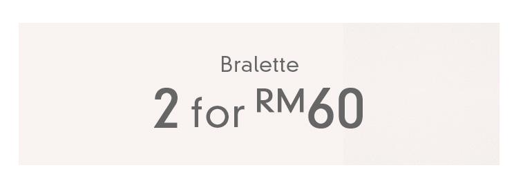 Bralettes | 2 For RM60