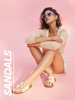 Sandals. Click to shop.
