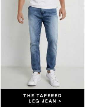 The Tapered Leg Lean