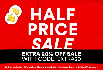 Extra 20% Off Sale with Code EXTRA20. Click to shop.