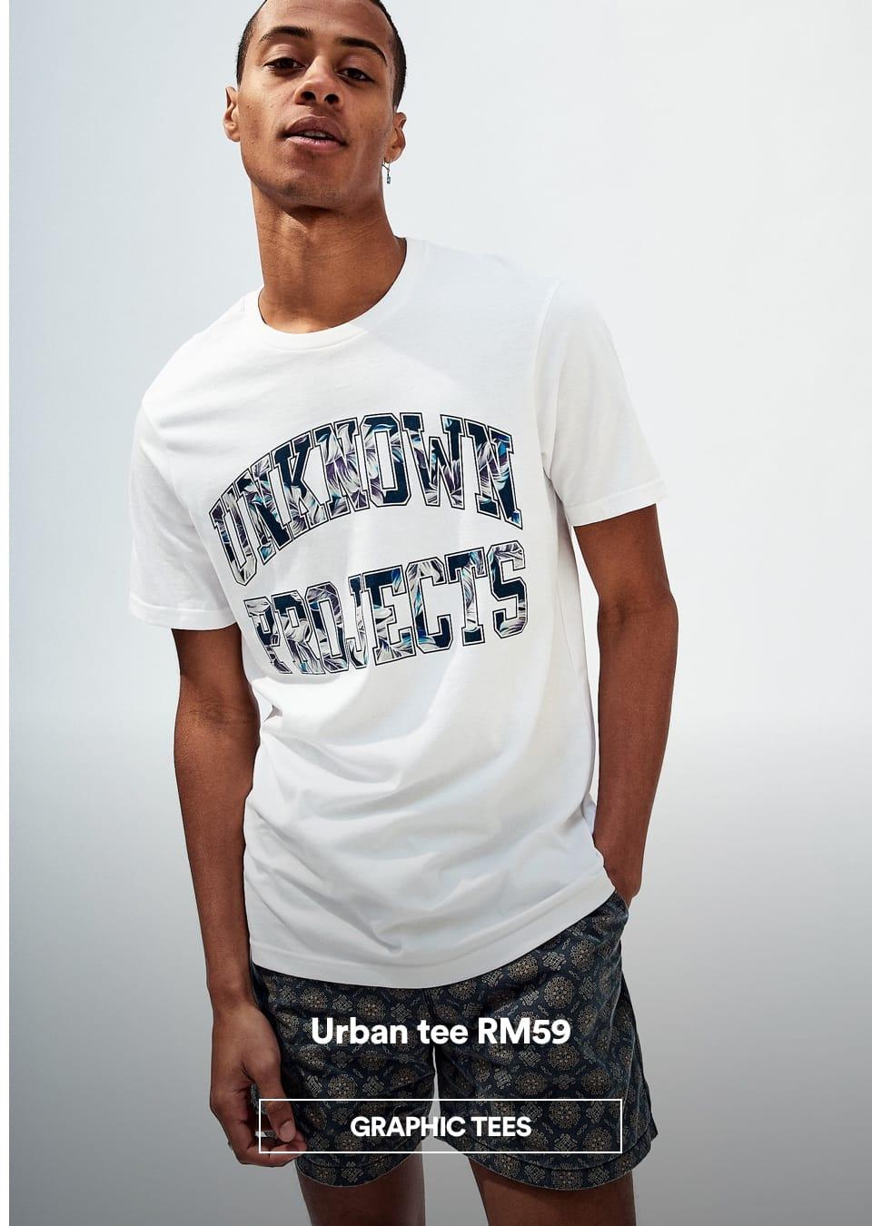 Men's Urban Tee. Click to shop