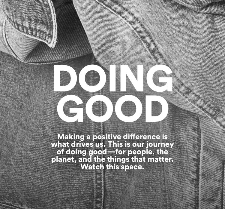 Doing Good. Making a positive difference. Click for more information.