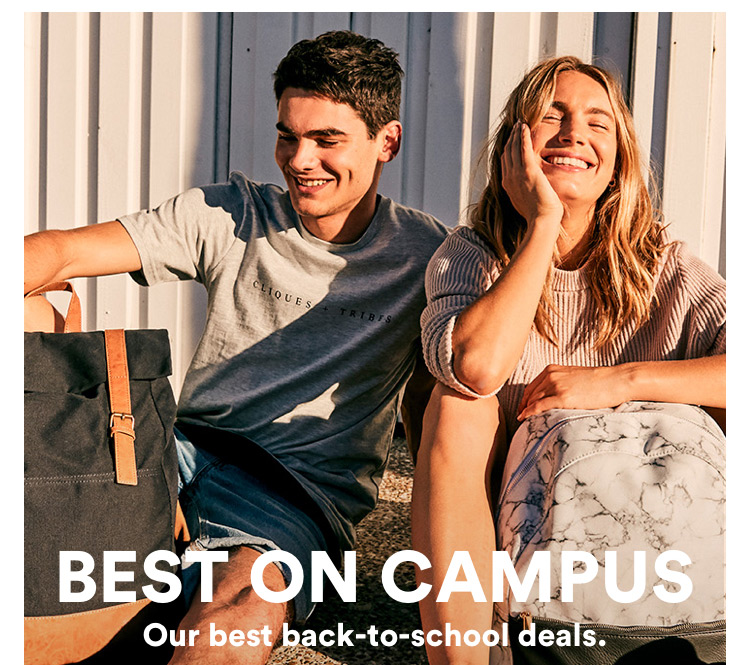 Best on campus: Our best back to school deals. Click to Shop Womens.