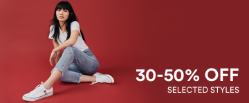 30 to 50 percent off. Shop Now.