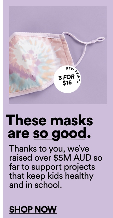 WoThese masks are so good. Shop Now.