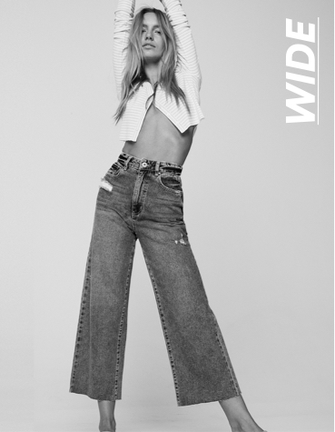 Cotton On. Wide Leg Jean. Click to shop.