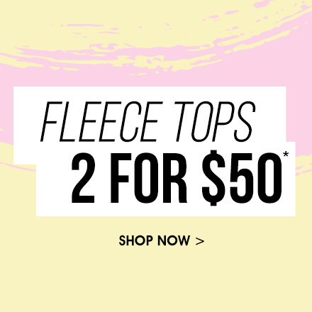 Free by Cotton On Fleece Tops