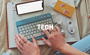 Tech Accessories. Click to Shop.
