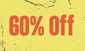 Shop 60% Off