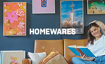 Homewares. Click to Shop.