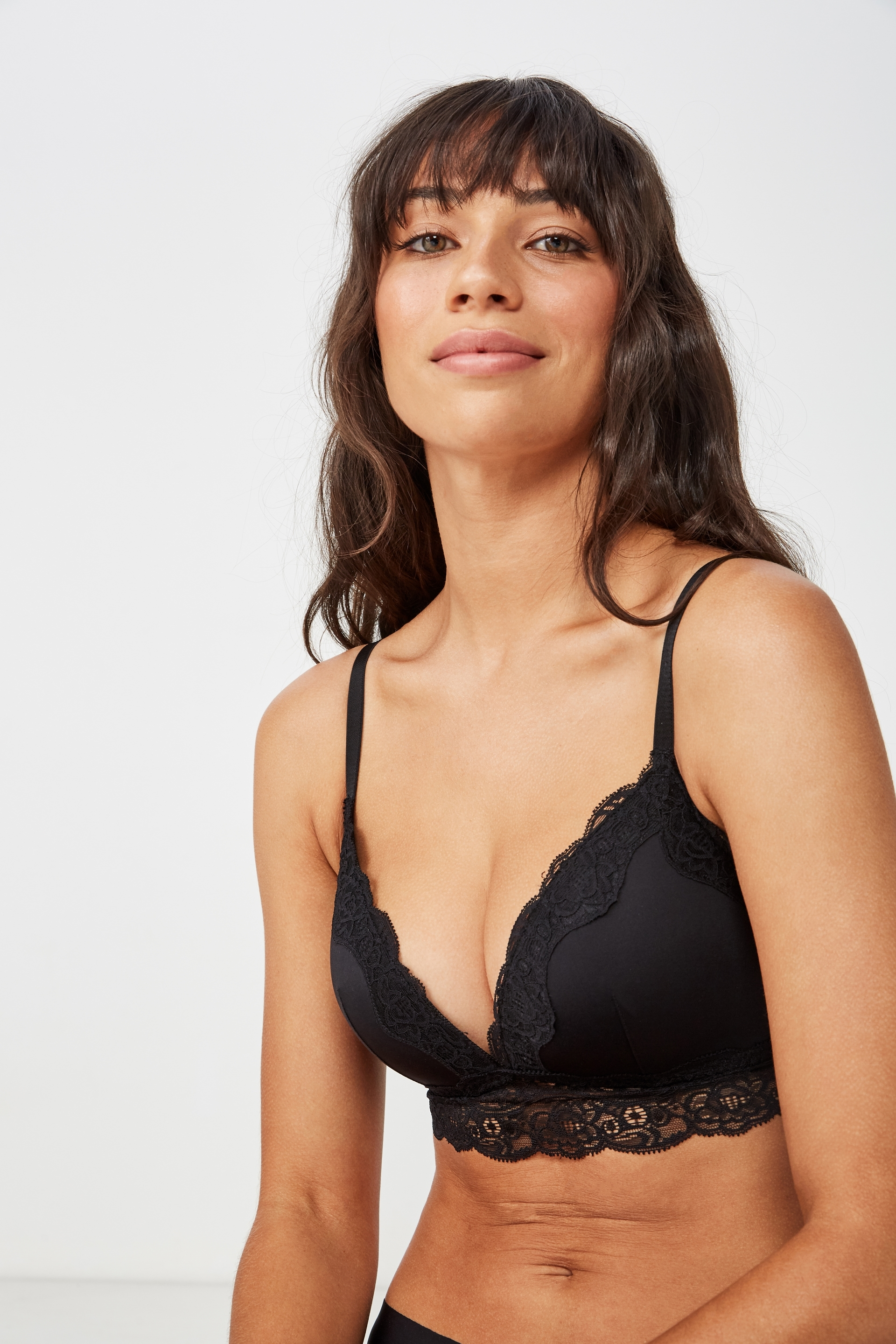 ... Smooth Lace Longline Wirefree Bra 21dfcfb60
