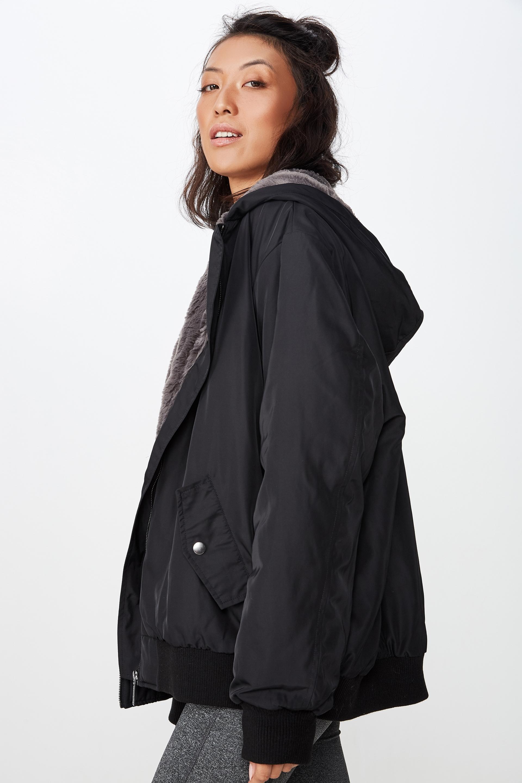1c05fd142 Oversized Bomber Jacket   Women's Lifestyle Fashion Brand   Cotton ...