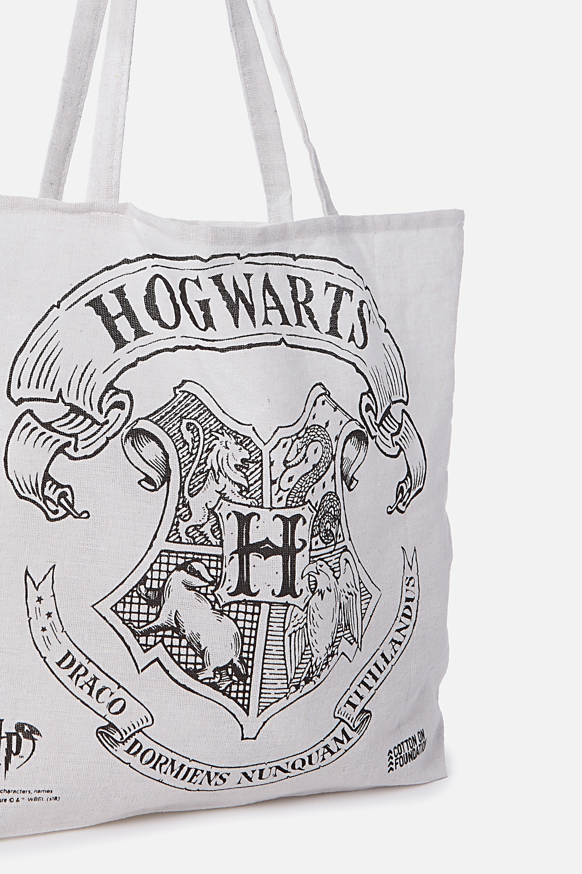 Typo Difference Tote Bag Lcn Hogwarts
