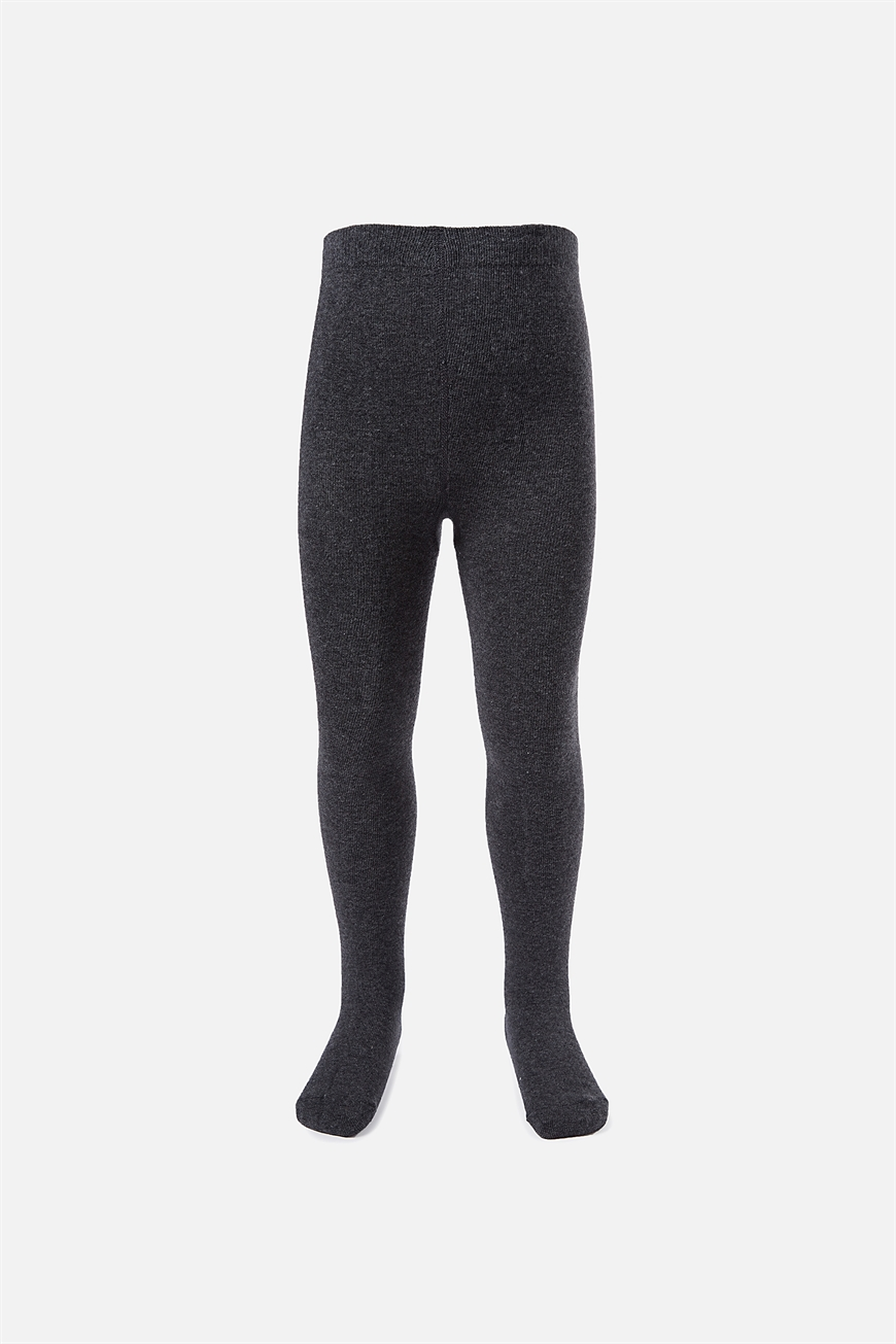 Cotton On Kids - Solid Tights - Charcoal 9352403192112