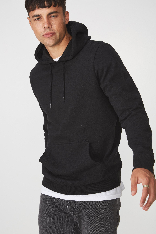 Cotton On Men - Fleece Pullover 2 - Black
