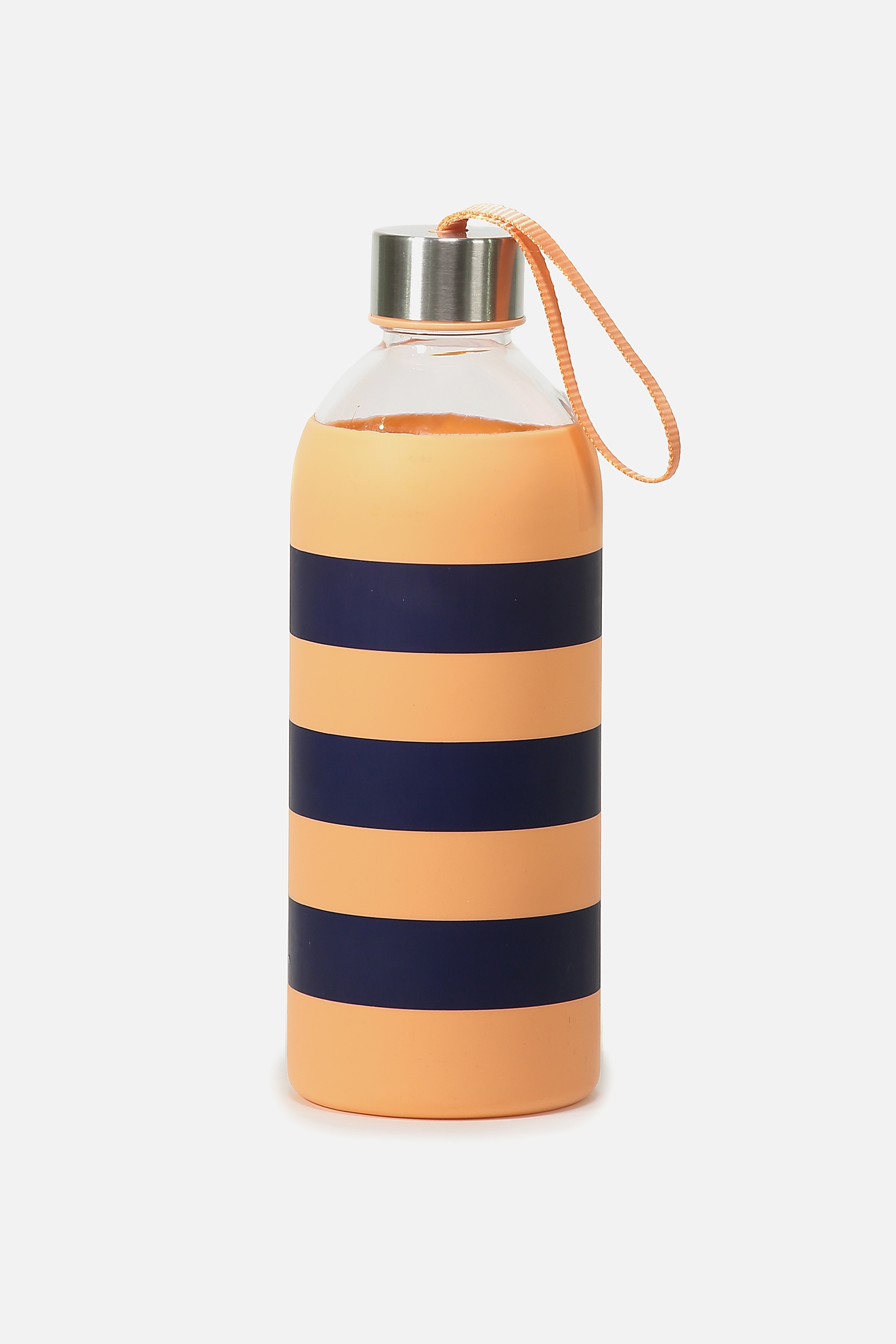 Rubi  1L Hydrator Waterbottle  Peachnavy stripe
