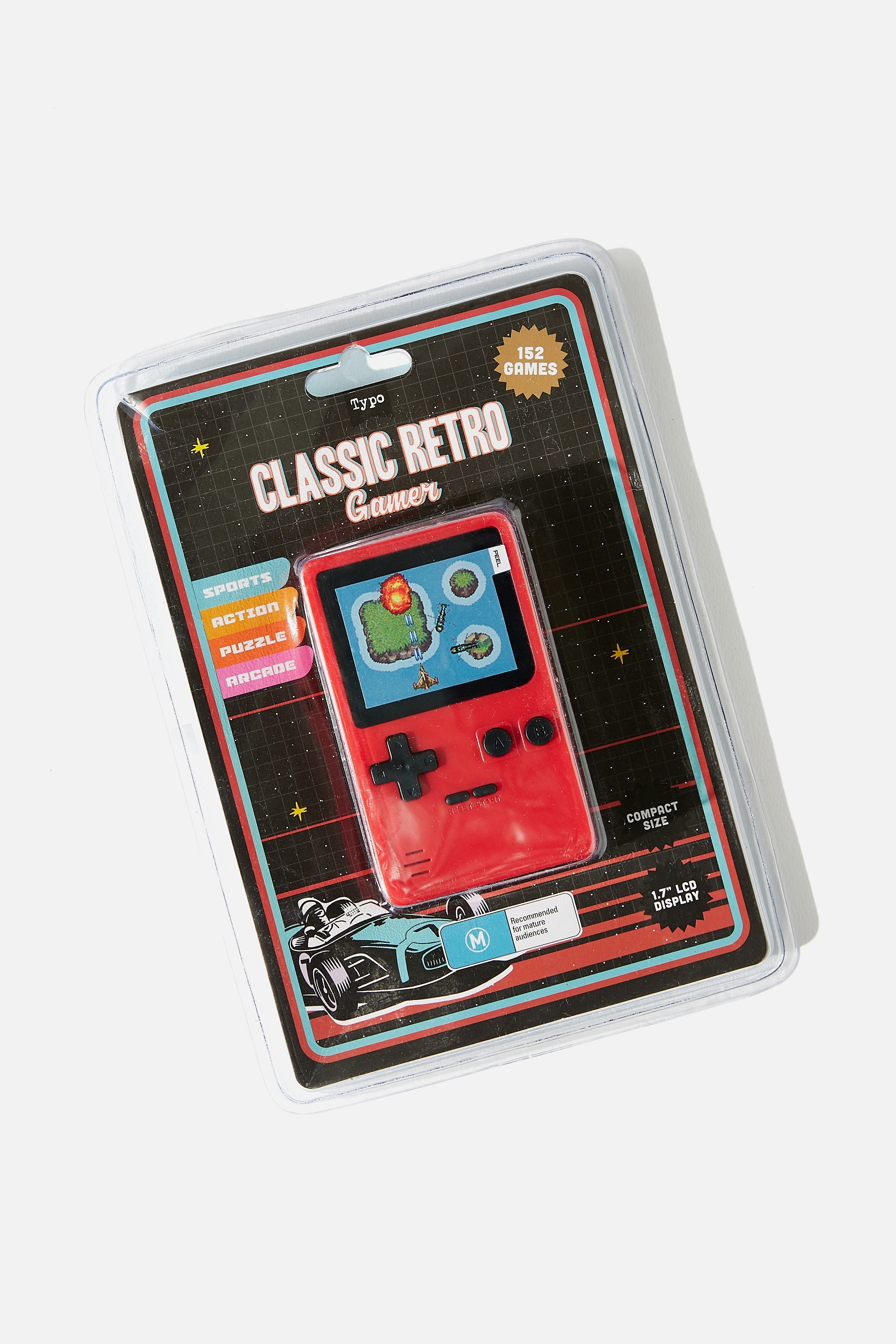 Classic Retro Gamer | Stationery, Backpacks & Homewares | Typo
