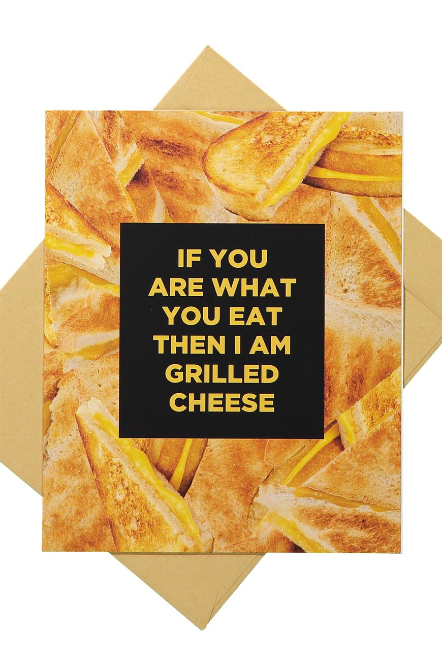 Typo - Funny Birthday Card - Grilled cheese 9351533003213
