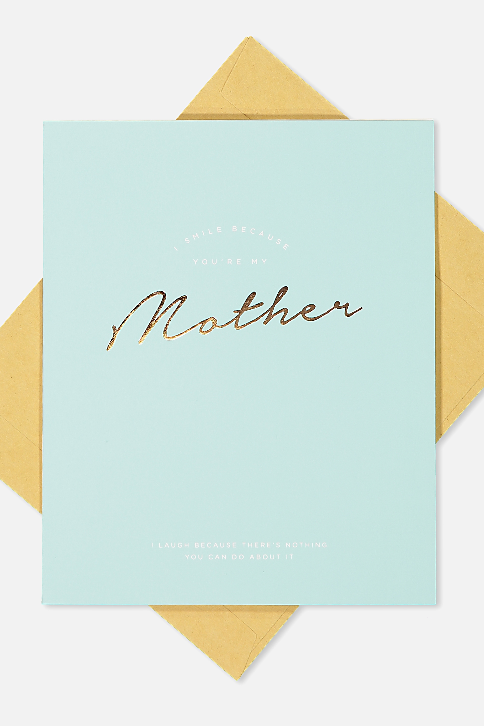 Typo - Mothers Day Cards 2018 - Smile mother