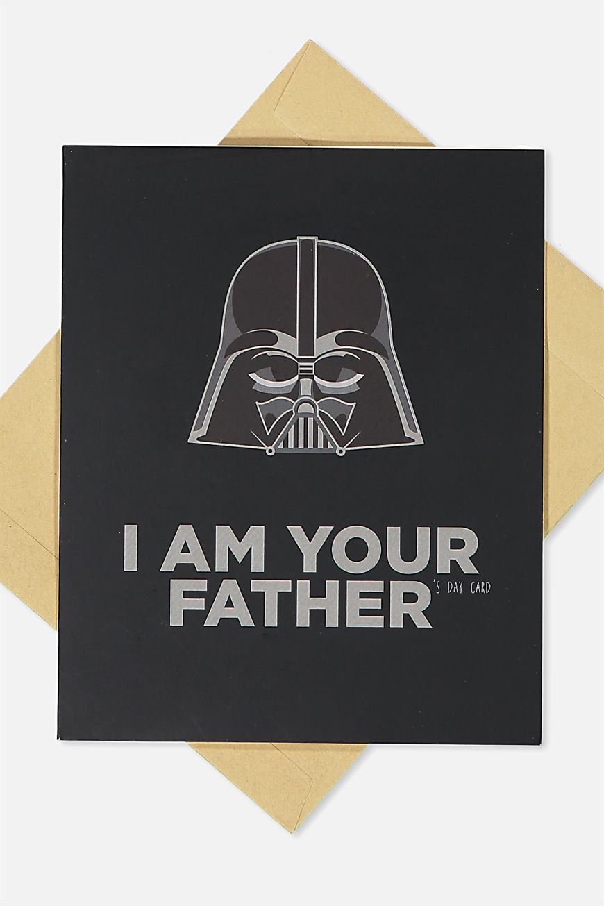 Typo - Fathers Day Card - Lcn i am your father