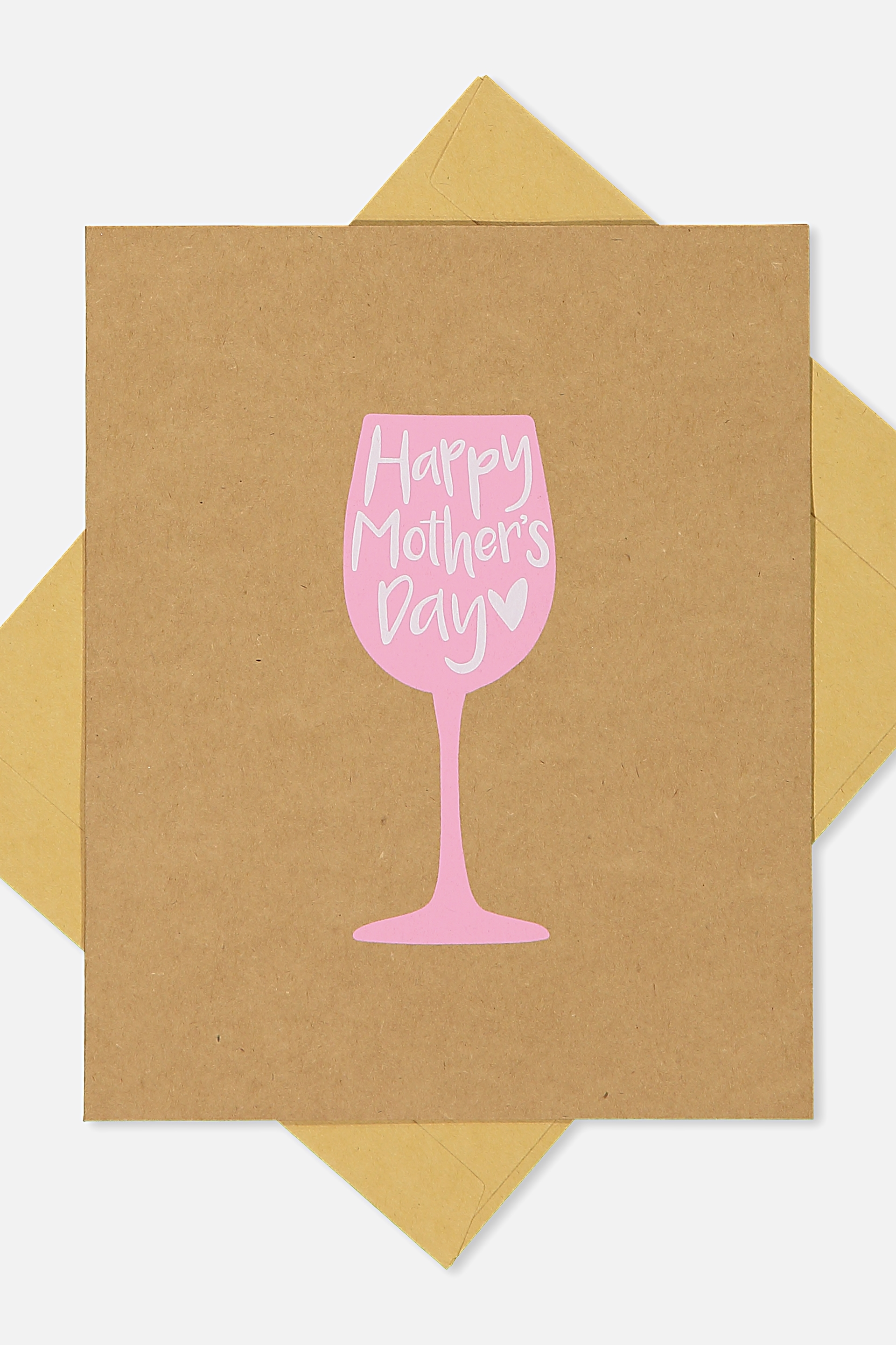Typo - Mothers Day Cards 2018 - Mothers day wine!