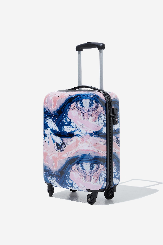 Typo - Tsa Small Suitcase - Moody marble