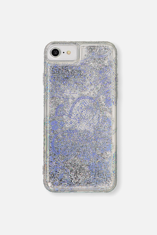 Typo - Shake It Phone Case Universal 6,7,8 - Holographic lace