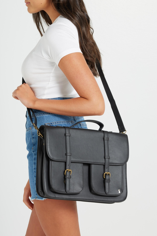 Buffalo Satchel Bag Black