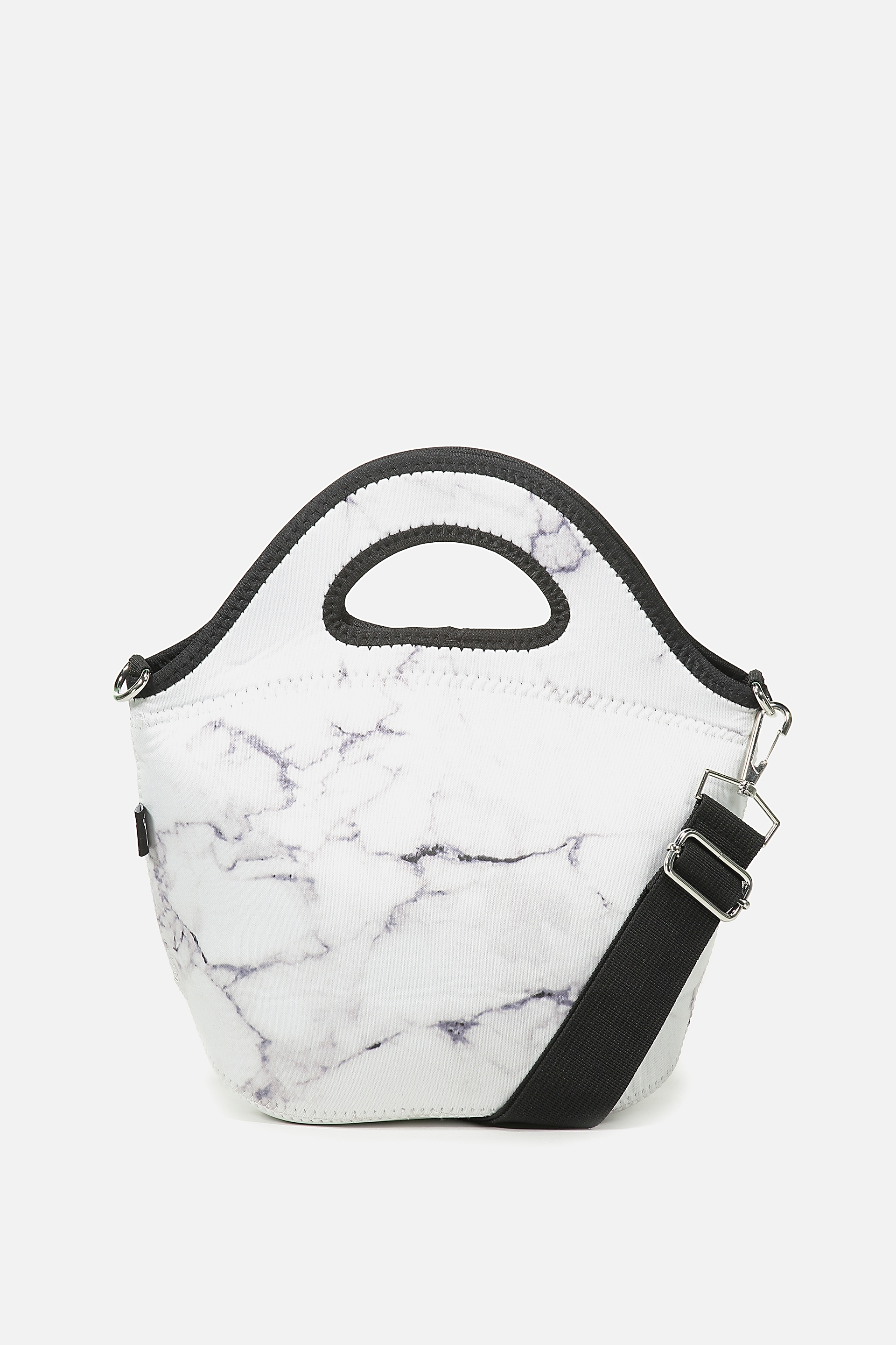 Typo - Neoprene Lunch Tote With Strap - Marble 9352855389177