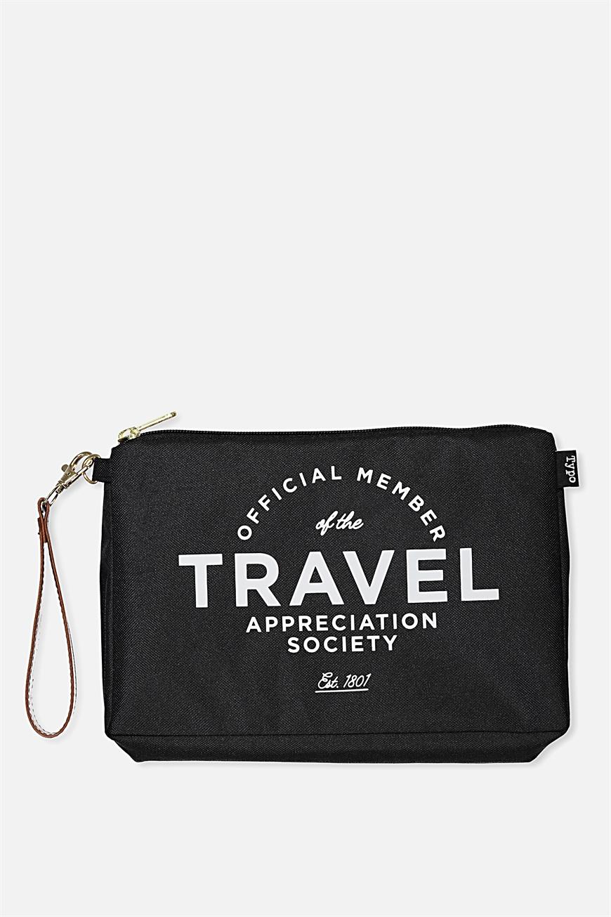 Typo - 3 Pc Travel Organizer Bags - Travel appreciation