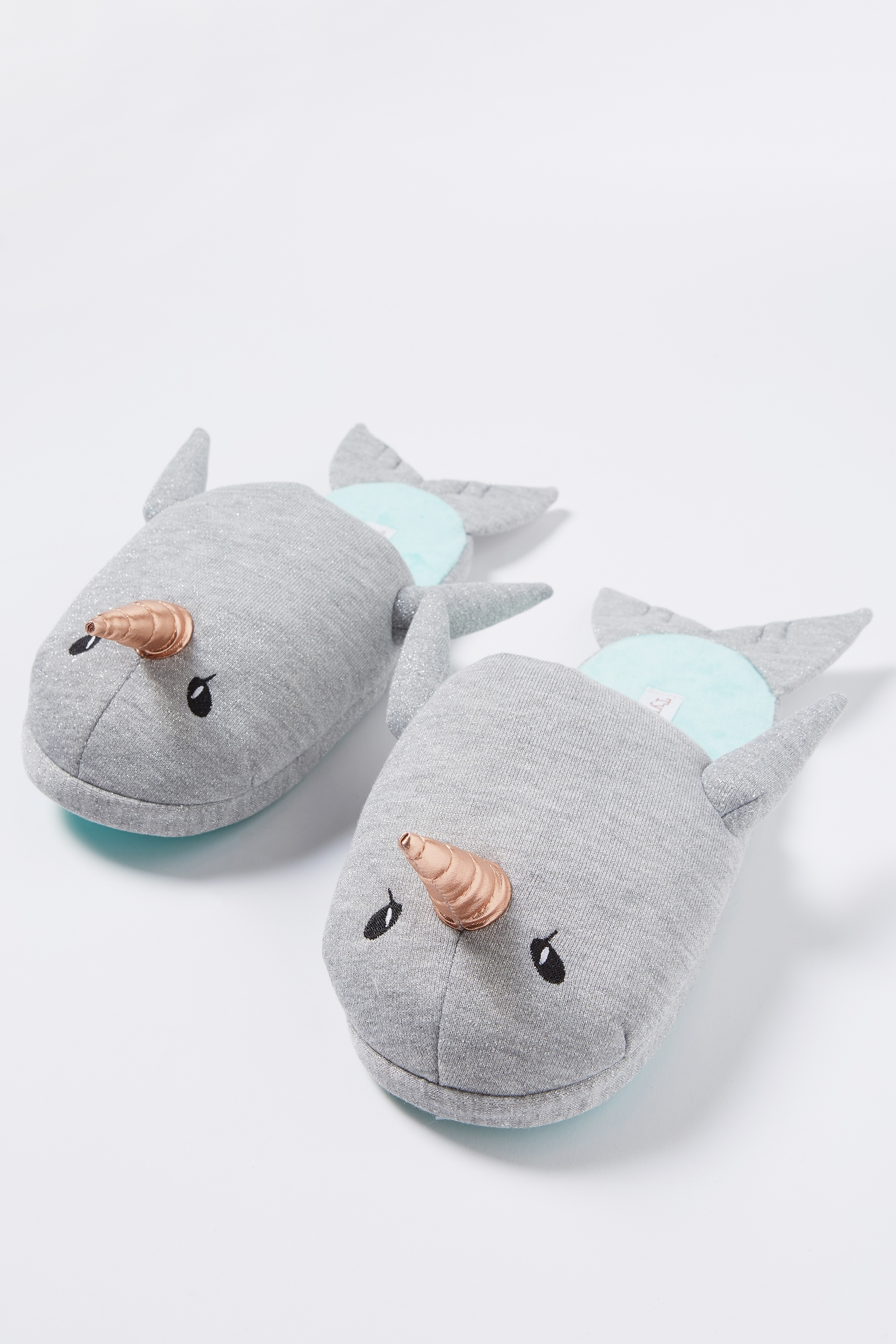 42fe70530f67 Typo - Novelty Slippers - Narwhal