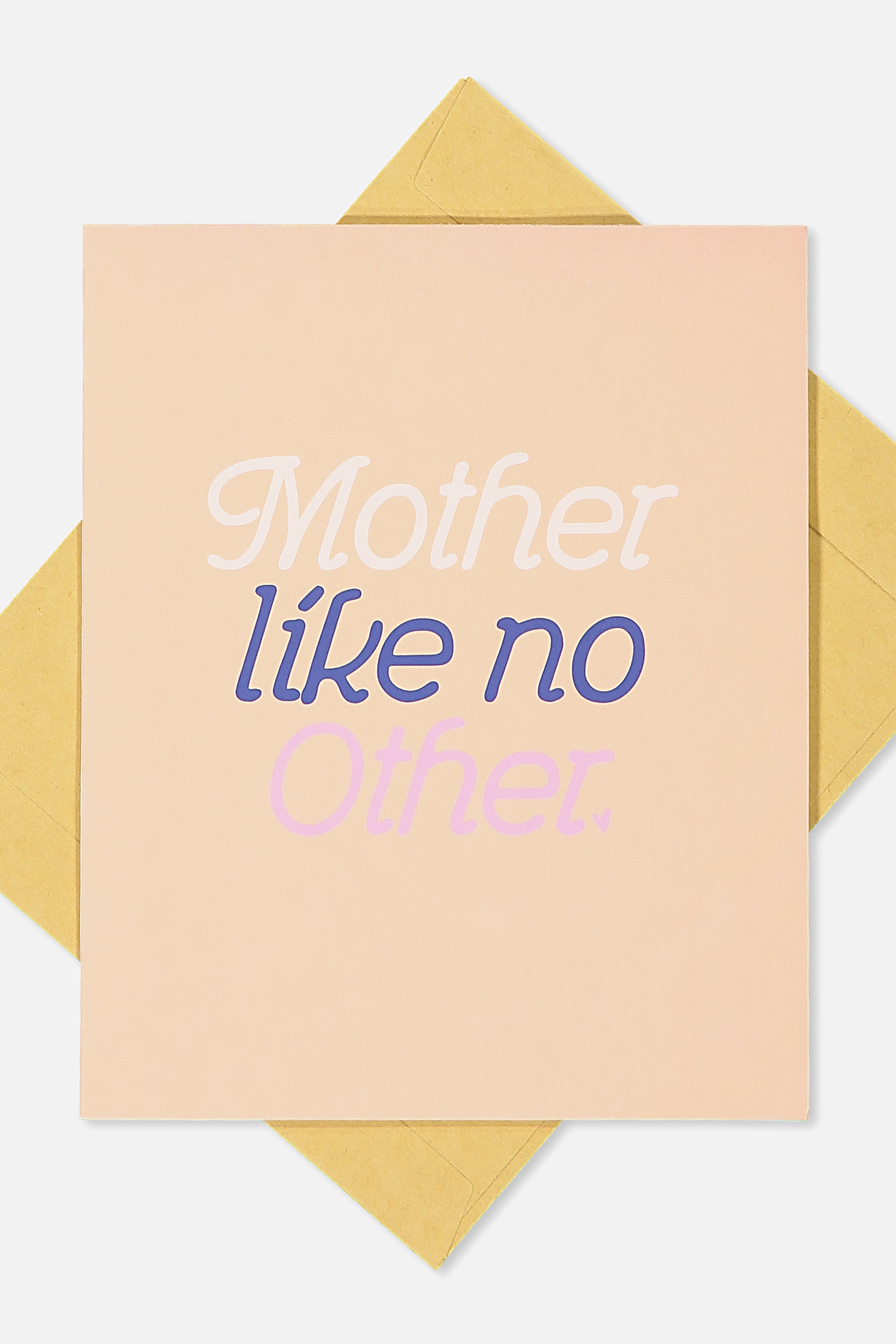 Typo - Mothers Day Cards 2018 - Like no other