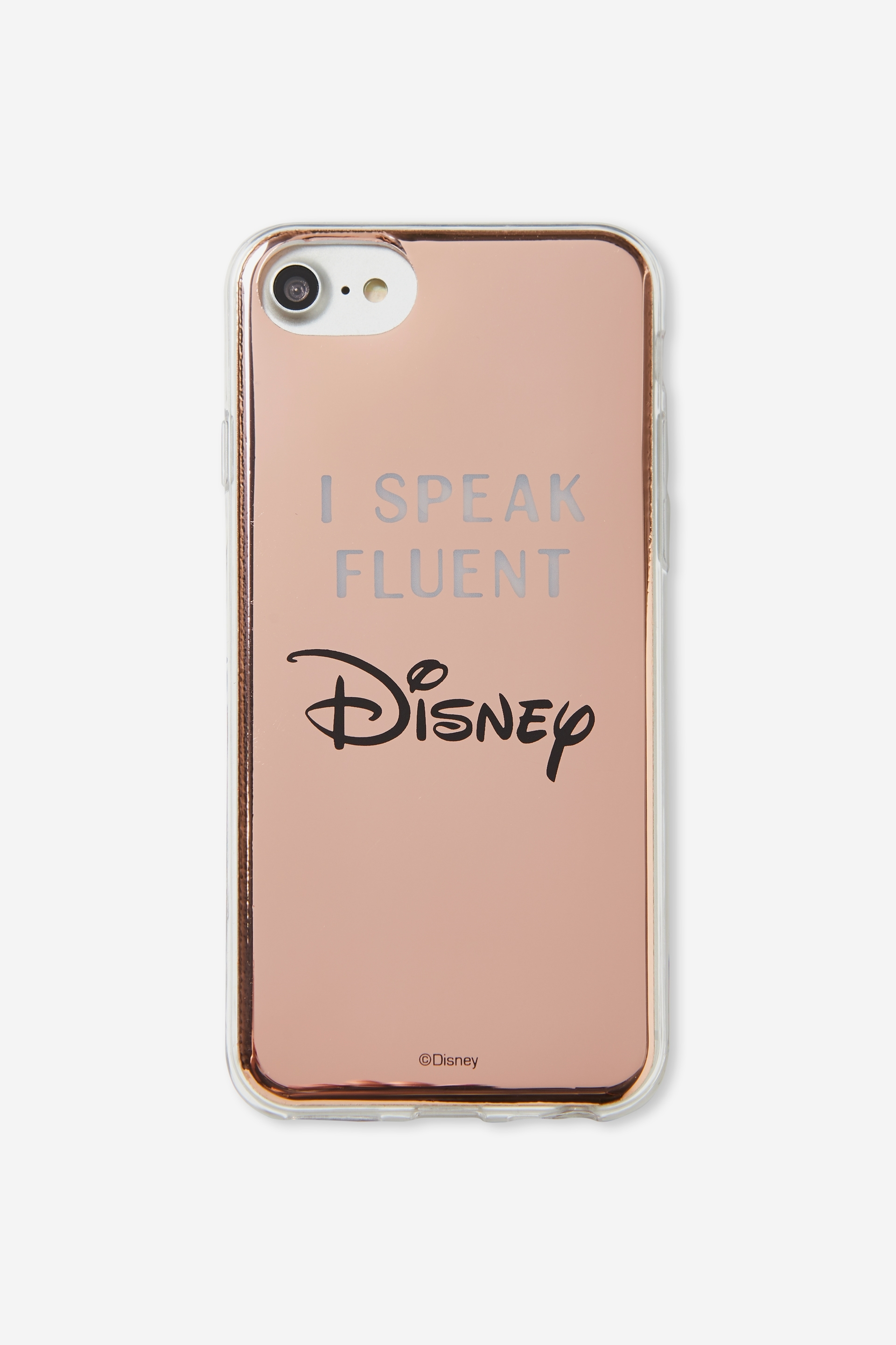 Typo - Printed Phone Cover Universal 6,7,8 - Lcn fluent in disney 9352403638573