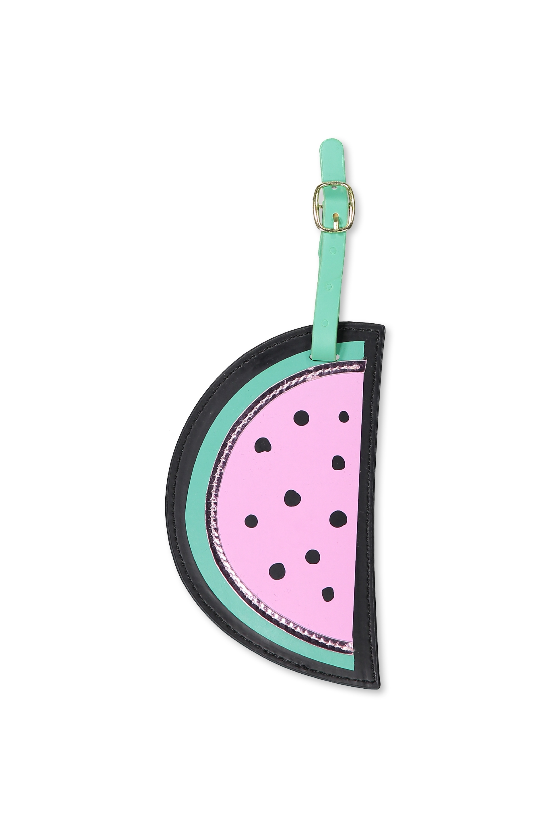 Typo - Shape Shifter Luggage Tag - Watermelon