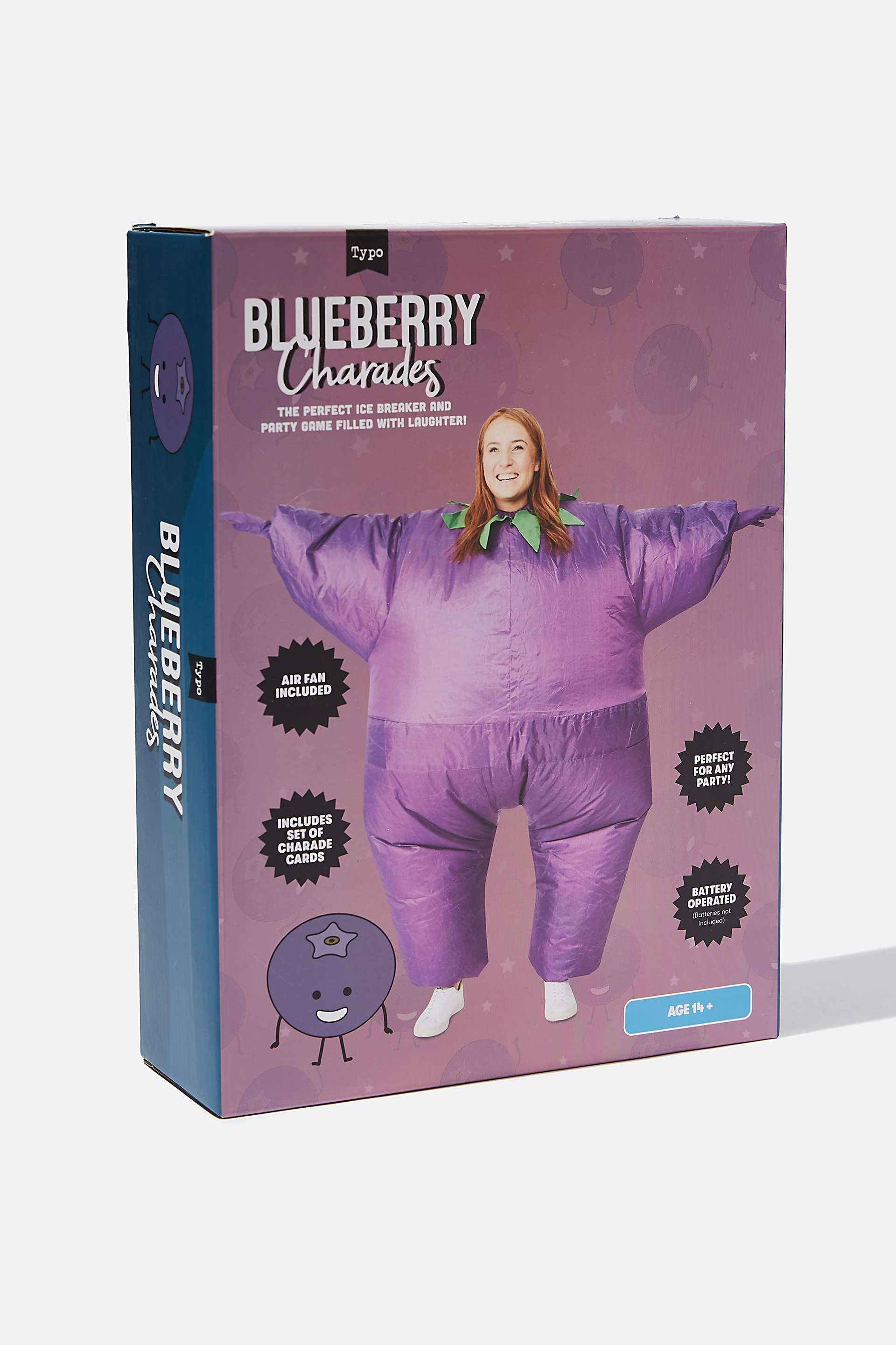 Typo - Inflatable Charades Game - Blueberry charades