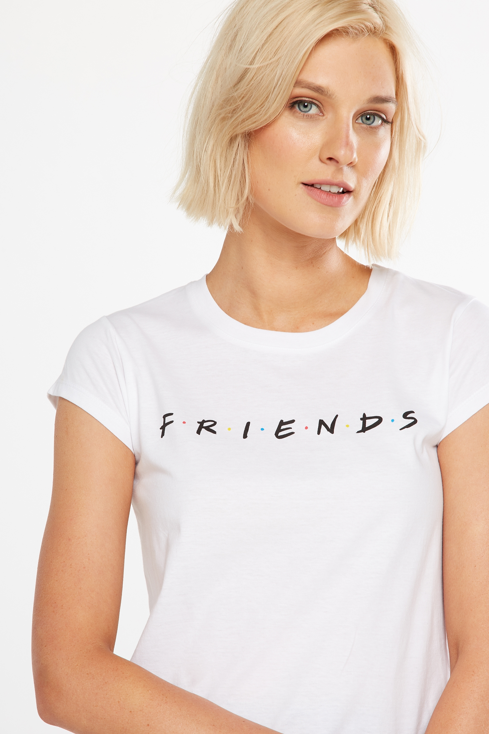 7d0f28130 ... Tbar Friends Graphic Tee, LCN FRIENDS/WHITE ...