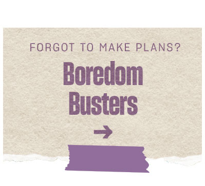Shop Boredom Busters