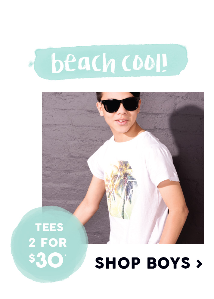 Free by Cotton On Boys Tees