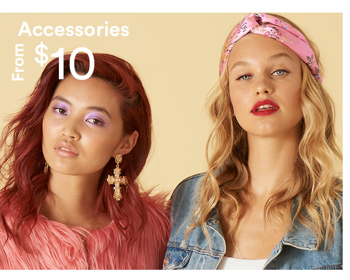 Accessories from $10