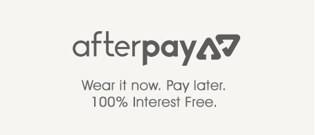 Afterpay. Wear it now. Pay later.