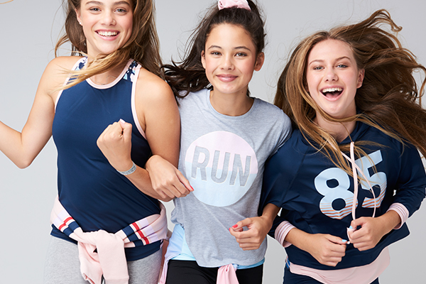 Free by Cotton On Teen Girl Activewear for Ages 9-14